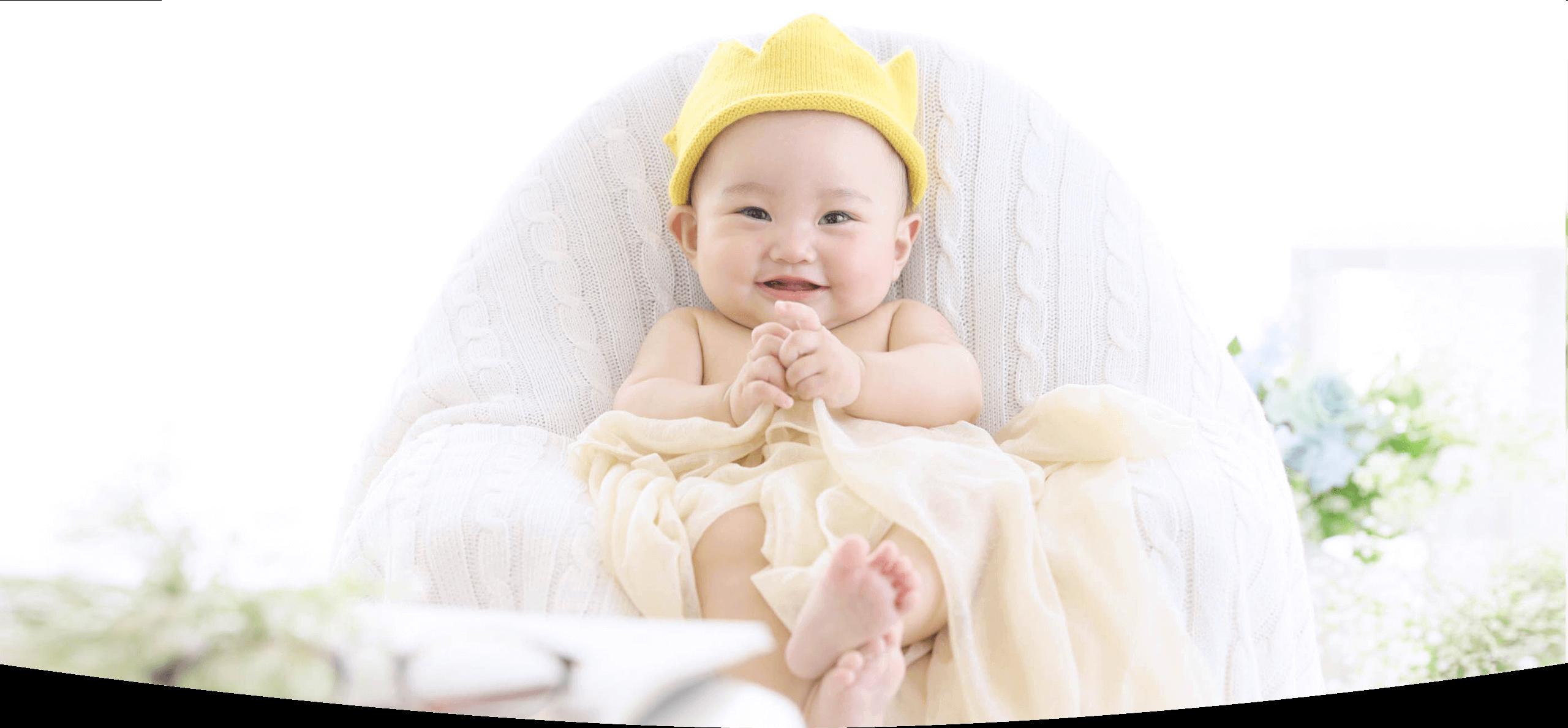ベビー・赤ちゃんの写真