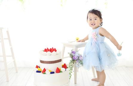 お誕生日撮影のイメージ写真