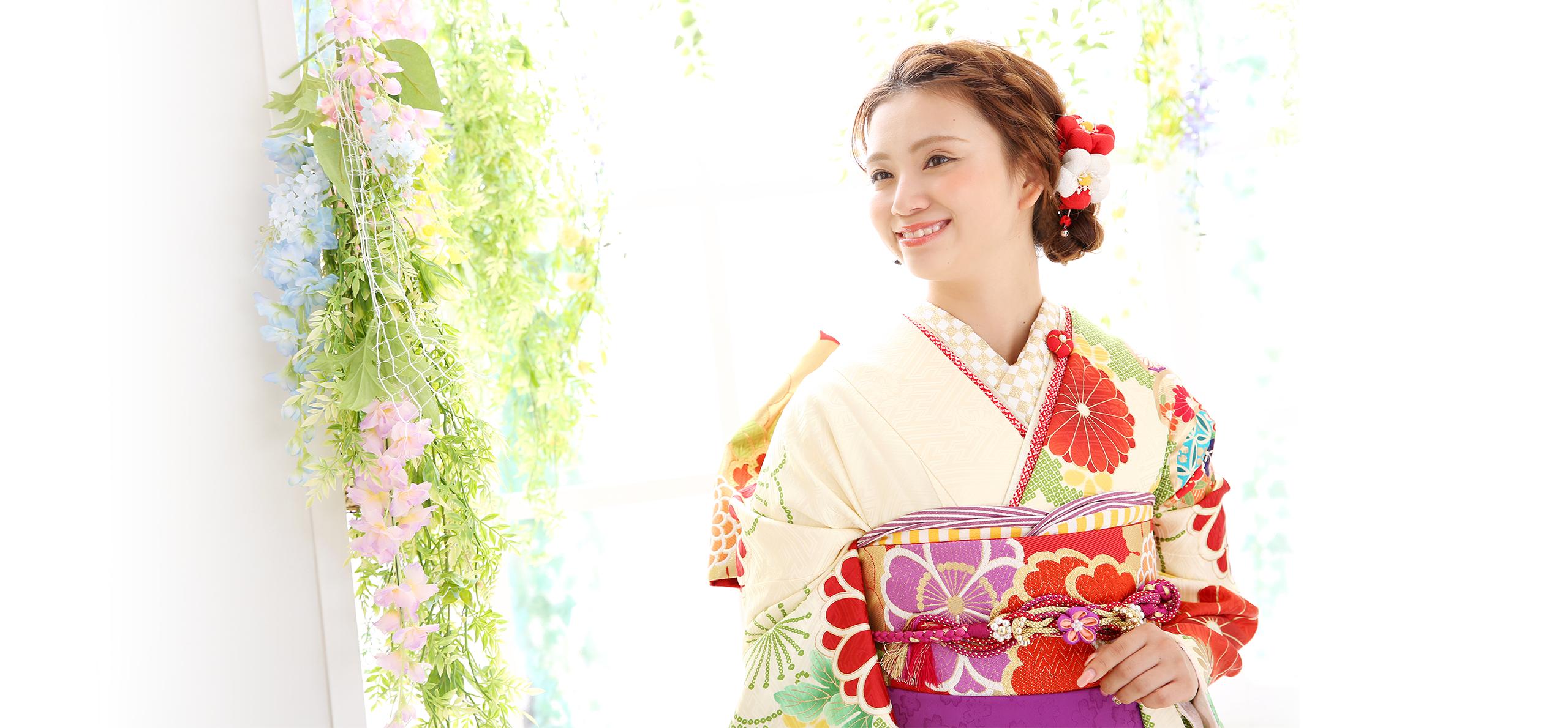 ユースマイル&アンジュエールの成人式振袖・卒業袴