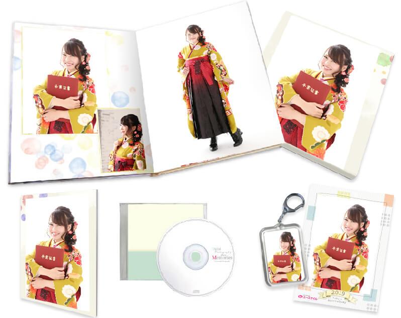 ボックス付きデザインアルバム、3~5回分の撮影料無料。全カットデータまで含んだお得なラビングパック