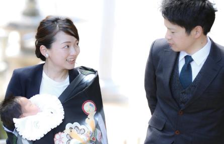 お宮参り出張ロケイメージ写真
