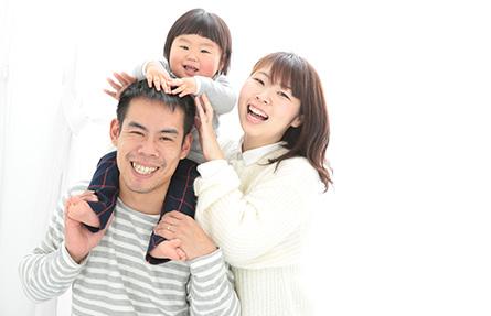 初節句記念のご家族撮影写真