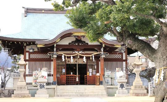 芦屋:打出天神社の写真