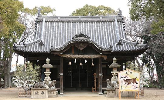 飾磨:津田天満神社の写真