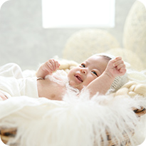 赤ちゃんのペースに合わせて撮影