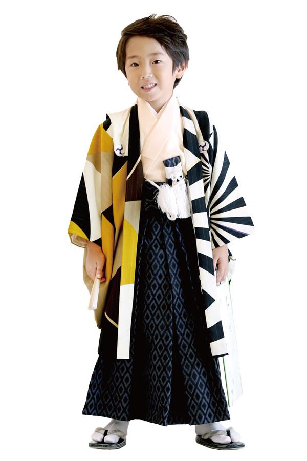 ユースマイル全店:七五三和装(5歳男の子)BB073