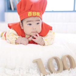 百日祝い撮影のお写真(11)