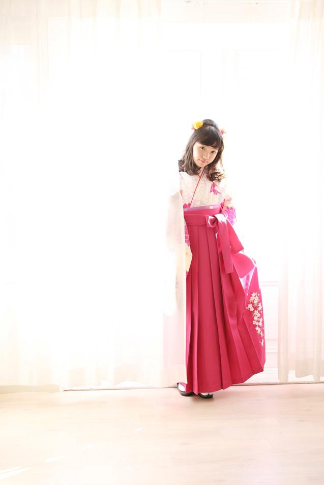 小学生卒業袴撮影のお写真(10)