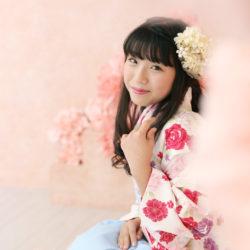 小学生卒業袴撮影のお写真(14)