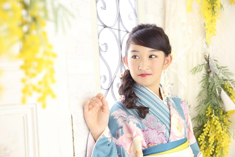 小学生卒業袴撮影のお写真(4)