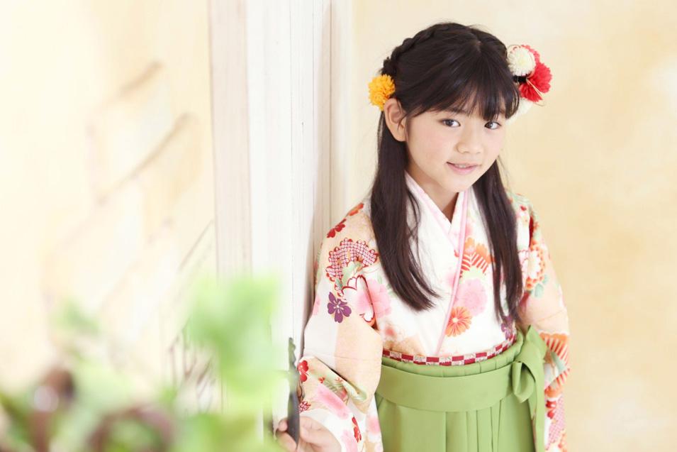 小学生卒業袴撮影のお写真(6)