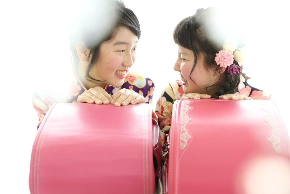 小学生卒業袴撮影のお写真(7)