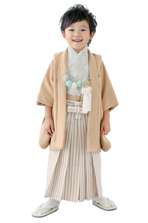 ユースマイル別府店・西神戸店:七五三和装(3歳男の子)BB079