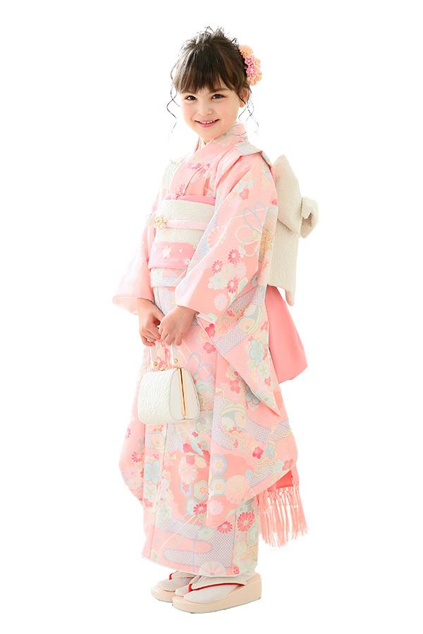 ユースマイル全店:七五三和装(7歳女の子)BG126