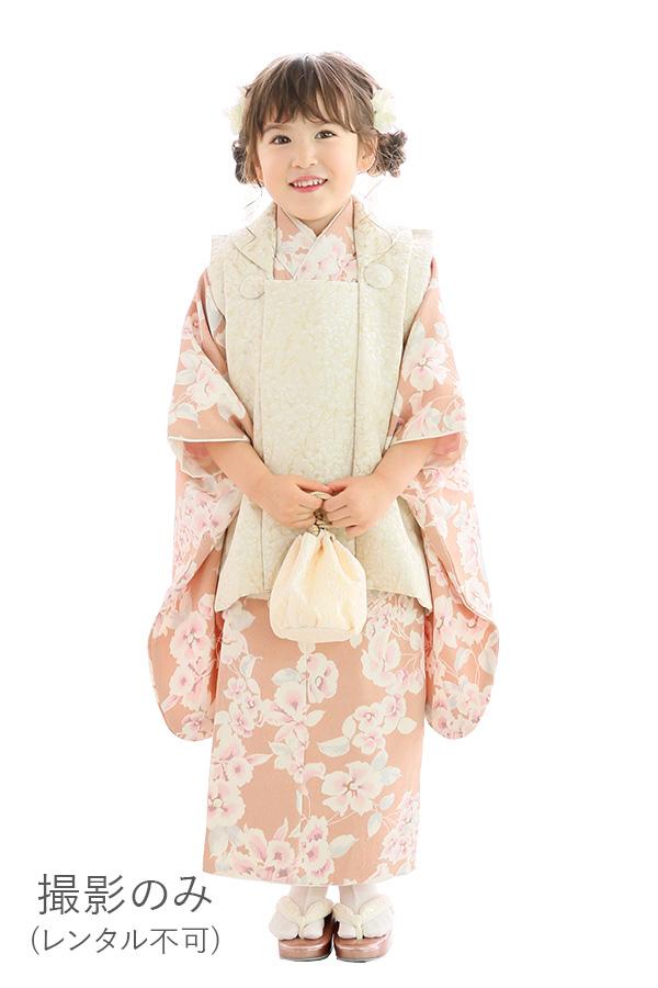 ユースマイル全店:七五三和装(3歳女の子)BG123