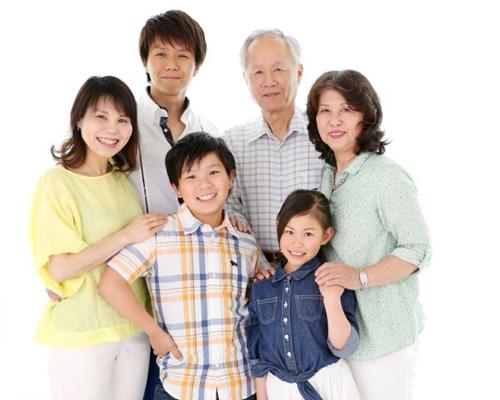 30年分の家族写真