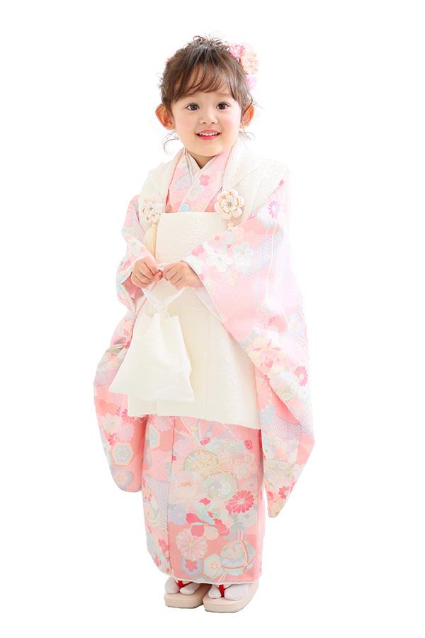ユースマイル全店:七五三和装(3歳女の子)BG125