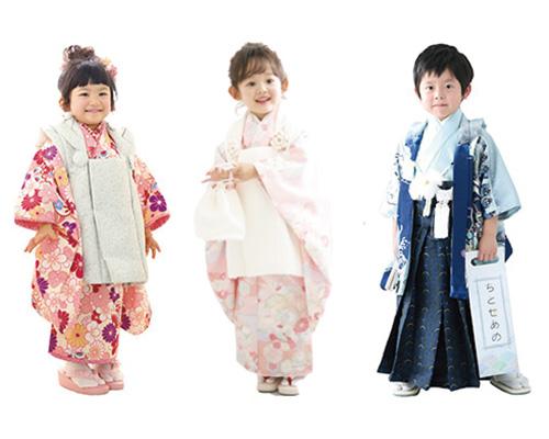 3歳の七五三衣装