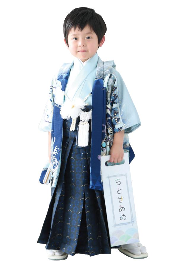 3歳男の子の七五三衣装04