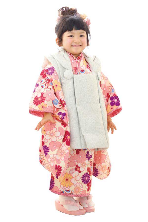 3歳女の子の七五三衣装05