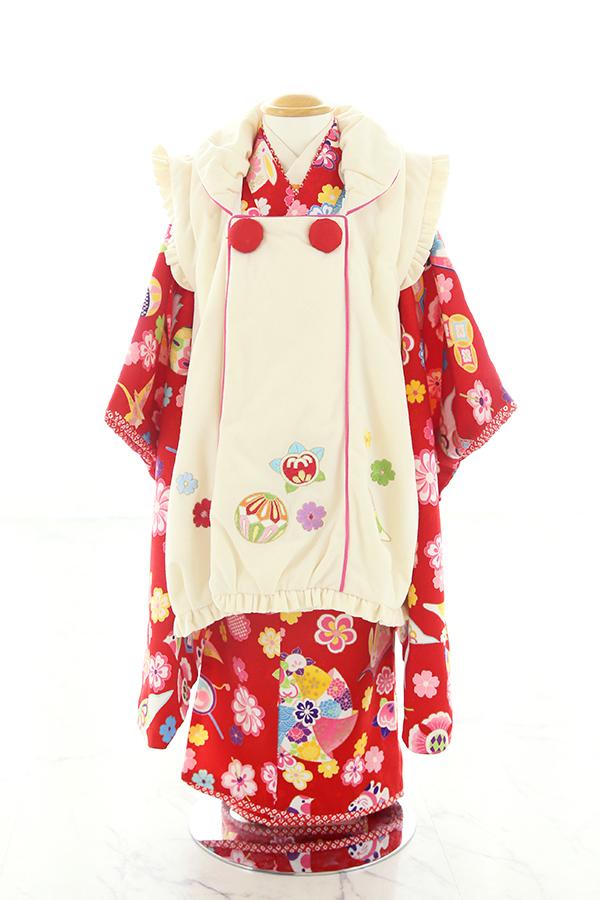 3歳女の子の七五三衣装16