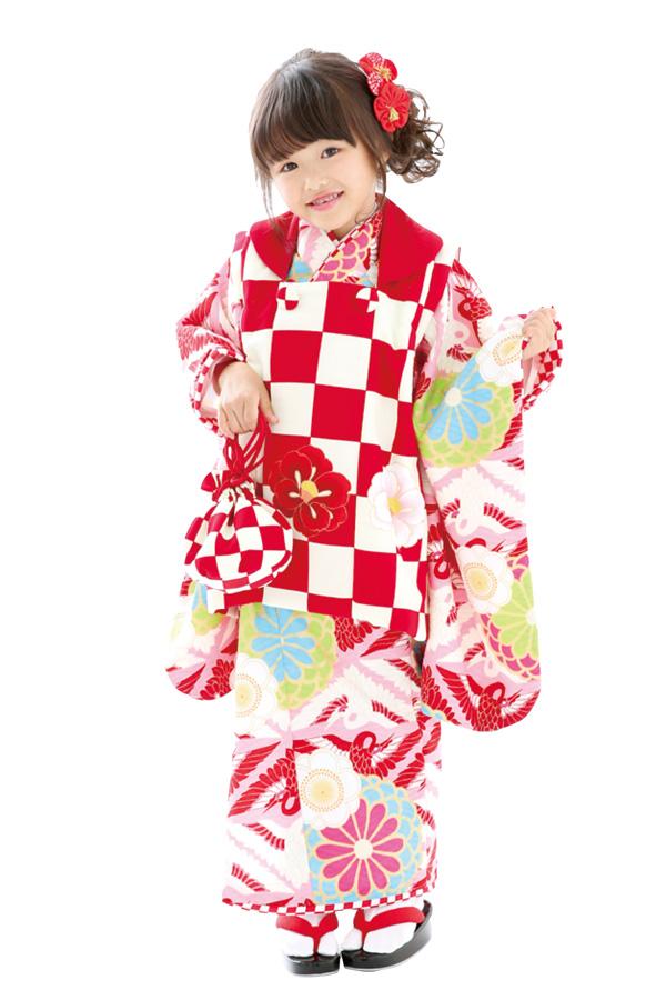 3歳女の子の七五三衣装09