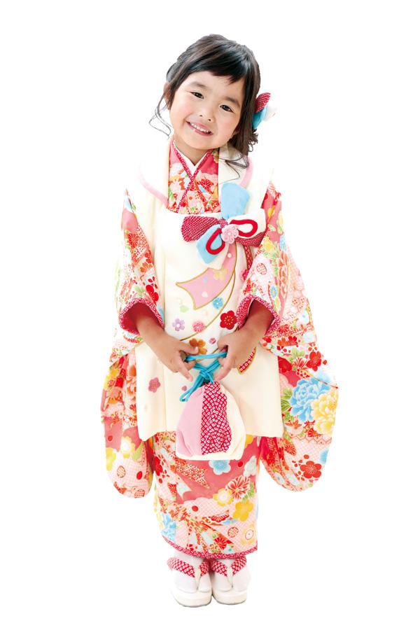 3歳女の子の七五三衣装10