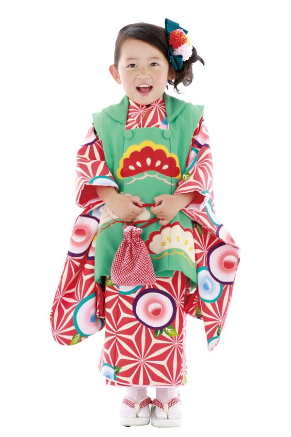 3歳女の子の七五三衣装12