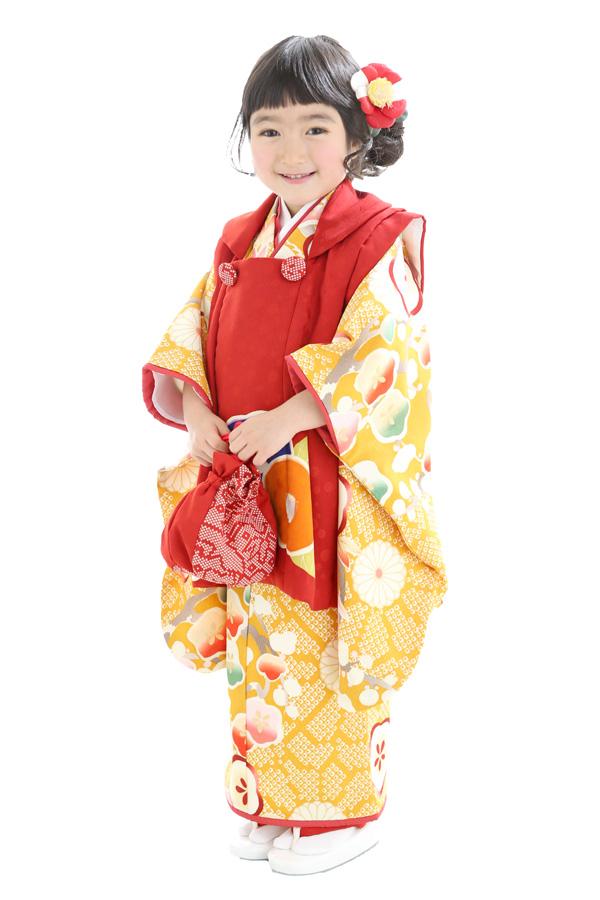 3歳女の子の七五三衣装13