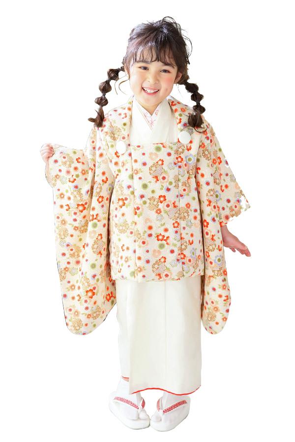 ユースマイル全店:七五三和装(3歳女の子)BG058