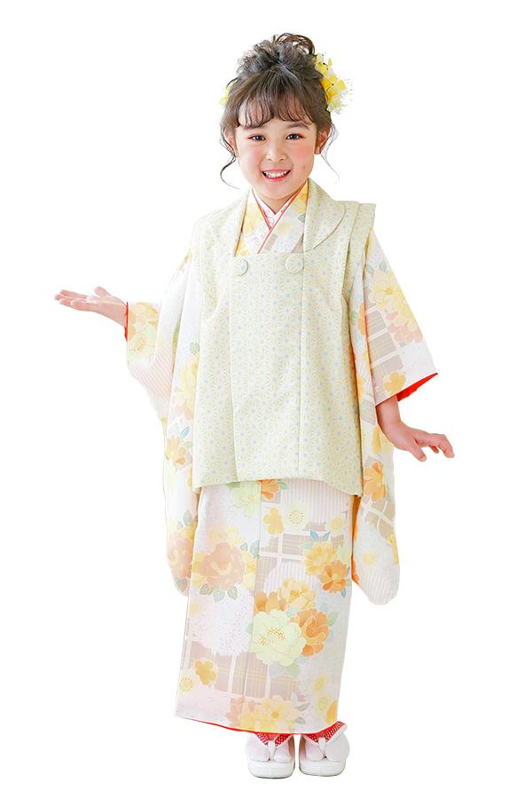 ユースマイル全店:七五三和装(3歳女の子)BG127