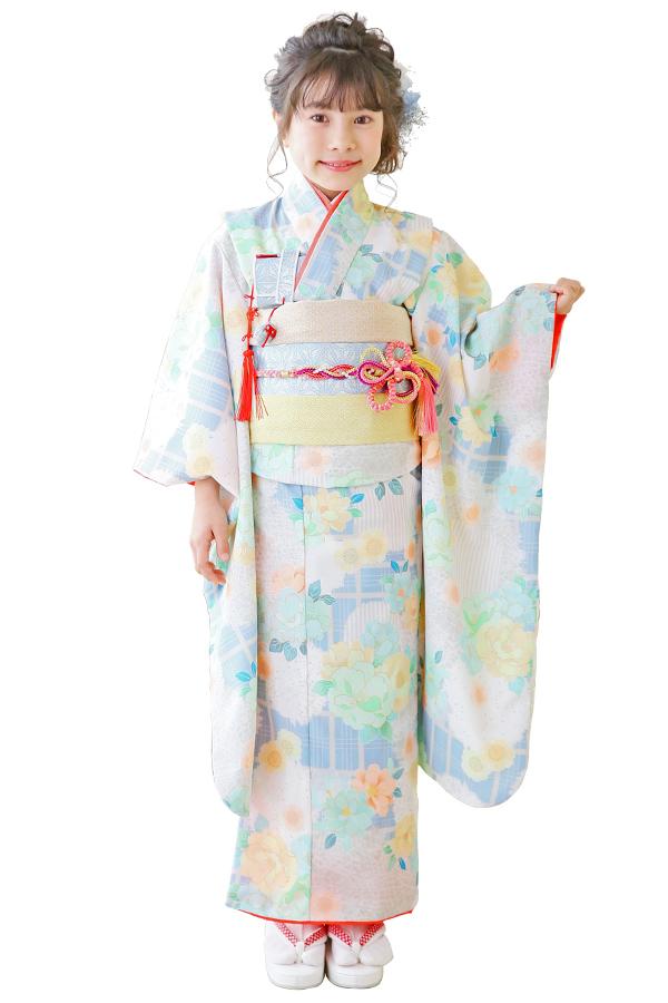ユースマイル全店:七五三和装(7歳女の子)BG128