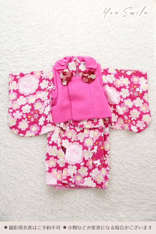 ユースマイル別府店:ベビー和装(0歳女の子)C00010
