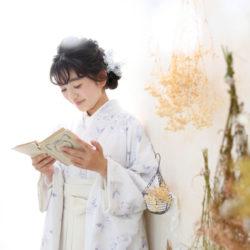 小学生卒業袴撮影のお写真(16)
