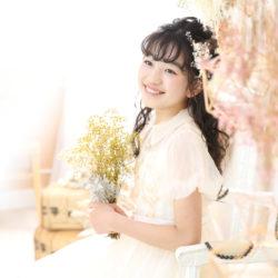 小学生卒業袴撮影のお写真(17)
