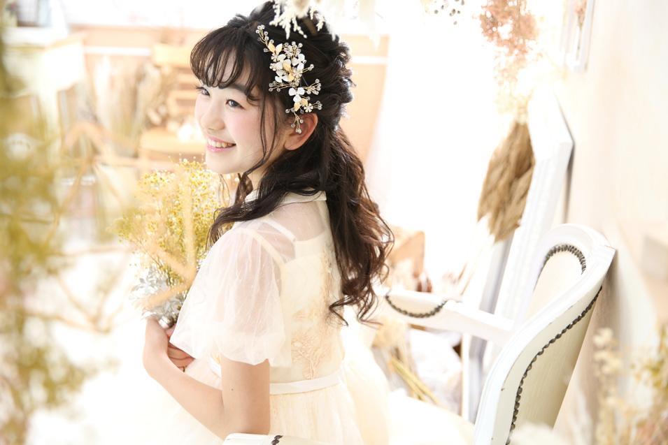 小学生卒業袴撮影のお写真(18)